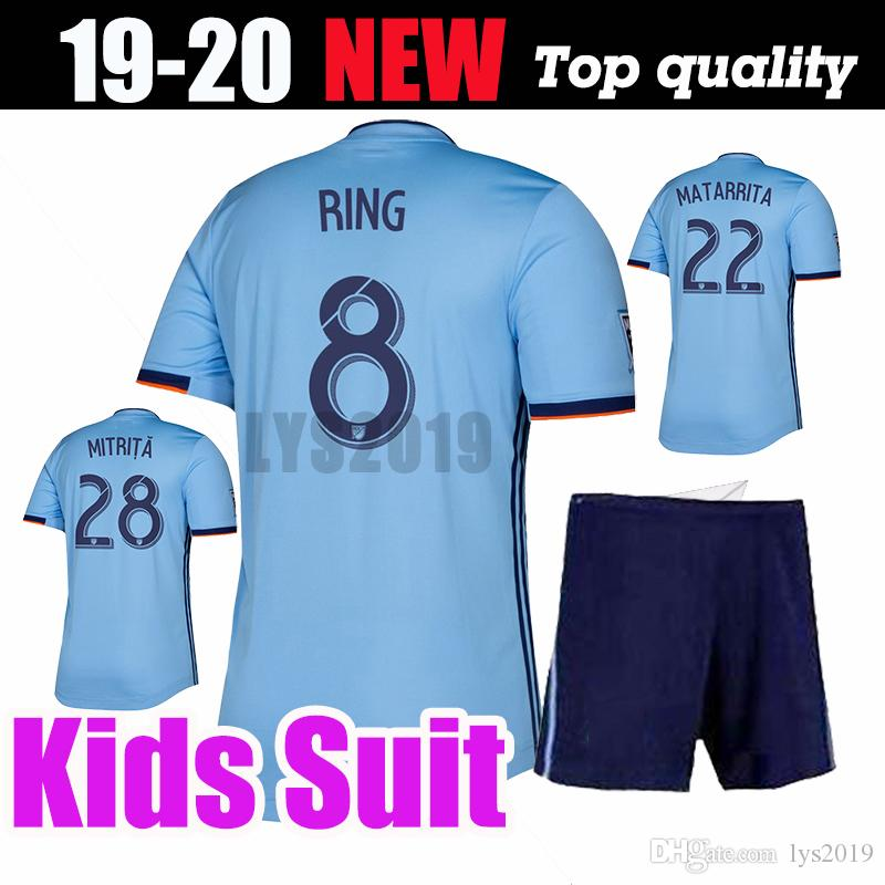 b219a2ec 2019 Kids Suit Nycfc 2019 New York City Soccer Jersey Home 19 20 MLS LAMPARD  PIRLO MCNAMARA MORALEZ DAVID VILLA Football Shirts Top Quality From  Lys2019, ...