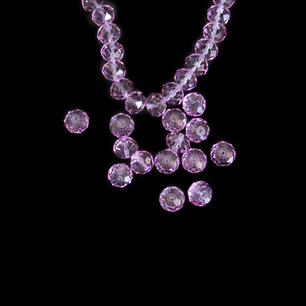 e0177fbbb4e3 Compre Top 14mm 18mm Color Lila Rondelle Facetas Facetadas Para Hacer Joyas  Diy Beads Para Pulseras Y Collares Embalaje Seguro A  19.5 Del Dropcrystal  ...