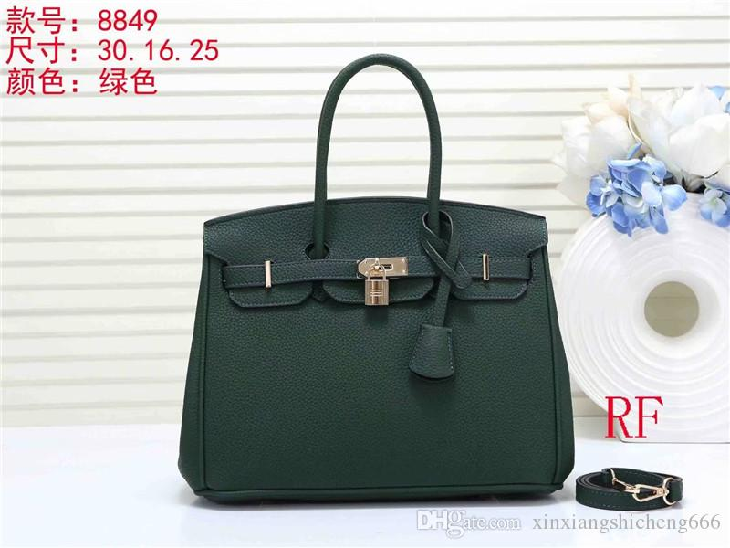 Classic women H 30CM large capacity leather handbags ladies shopping tote bags Shoulder bag purse good quality