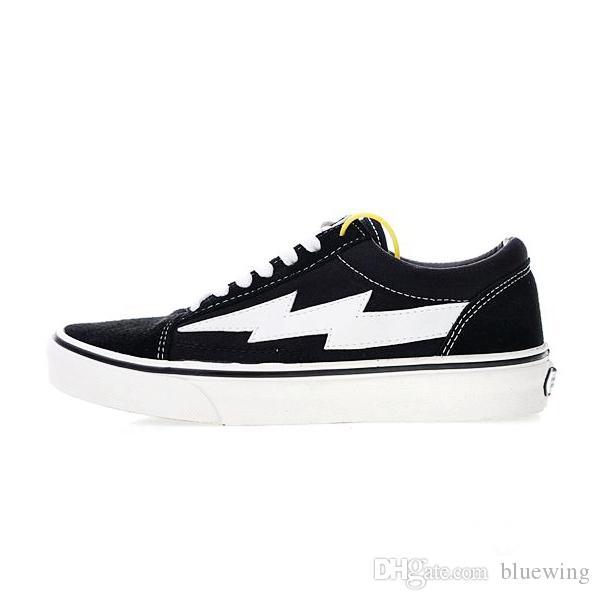 7f103b6f4afb0 Acquista VANS 2019 Vendetta X Storm Kanye Old Skool Scarpe Casual Scarpe Da  Tennis Teal Black Flame Le Boogie Slip On Light Skateboard Scarpe 35 44 A   83.37 ...