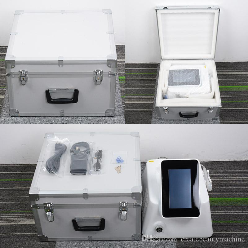 Heißer Verkauf Spinnenader Entfernung Laserdiode 980nm dauerhafte Blutgefäße Entfernung Schönheitsausrüstung Ausgestattet mit 5 blauen Ringen