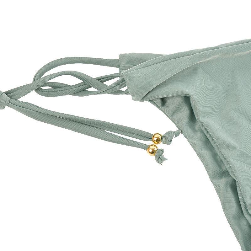 Vertvie String String Maillots De Bain Sexy Femmes Bikini Set Bandage Plage Maillot De Bain Taille Basse Maillot De Bain Push Up Biquini Brésilien