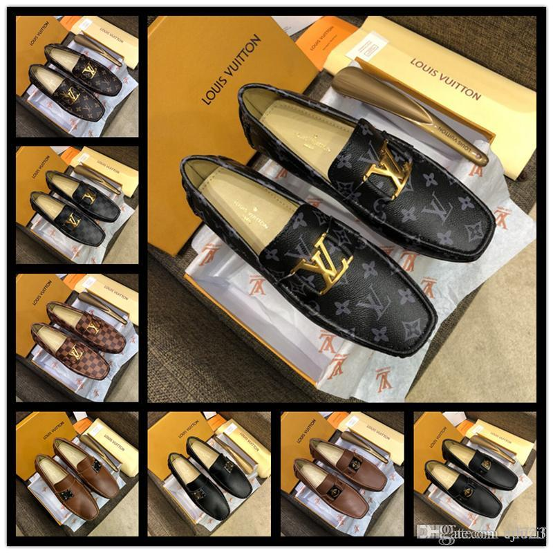 4f6741574 Compre Melhor Mens De Luxo Derby Sapatos Dos Homens Oxfords Plana Casual Slip  On Vestido De Casamento Sapatos De Couro Calçados Masculinos Sapatos De ...