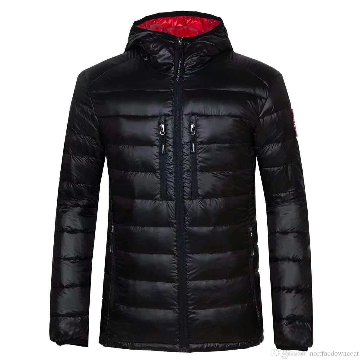 new products d2ccd 8b0f0 Giacca invernale Uomo Abbigliamento 2018 New Brand Hooded Parka Cotton  Canada Coat Uomo Mantenere caldo giacche d oca Cappotti moda 7696