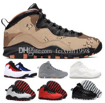 d7b4adb564477 2019 10 10s Basketball Shoes Sneakers Men Tinker Orlando Class Of 2006  Cement Chicago Steel Stealth X Black Man Discount Baskets Ball Shoes  Basketball Shoes ...