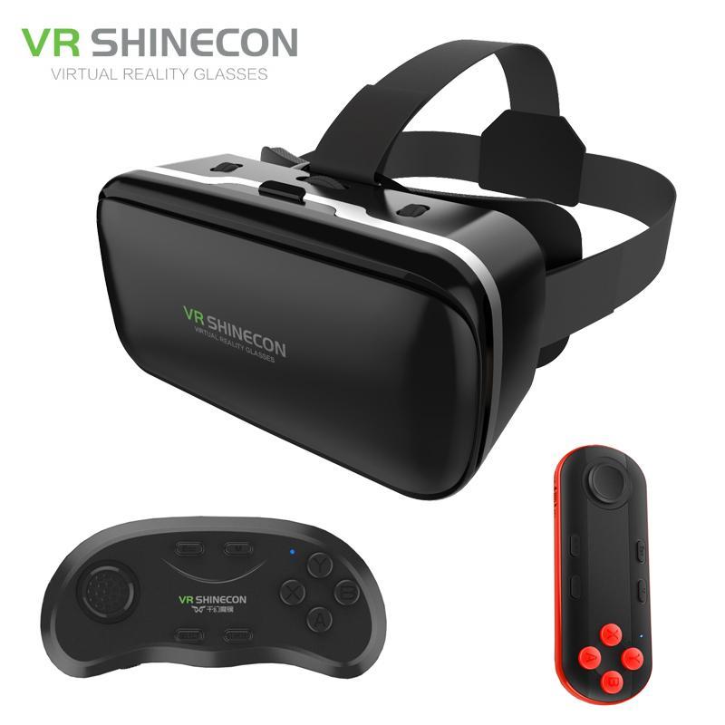 fa58318ed5e VR Shinecon 6.0 Improved Google BOX Cardboard Virtual Reality 3D ...