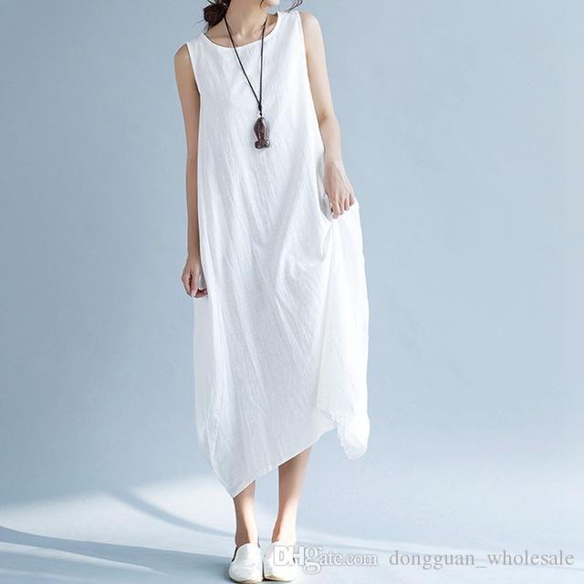 Jolie robe en coton pour femme