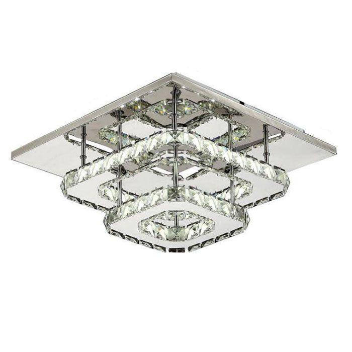 AC100-240V Moderne kristall lampe LED deckenleuchte edelstahl esszimmer  schlafzimmer wohnzimmer lampen art deco hause beleuchtung