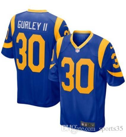 Compre Camisetas De Fútbol Americano Rams Todd Gurley II Jared Goff Aaron  Donald Cooks Vapor Untouchable Camiseta Personalizada Para Hombre Para  Hombre ... 17e725f733ad1