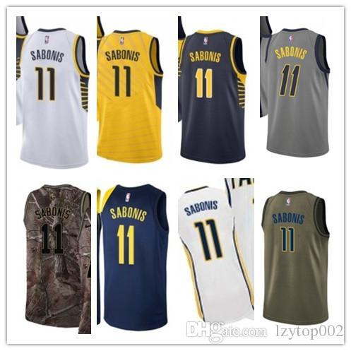 new arrival 5ee07 d8abe 2019 custom Men/WOMEN/youth Indiana Pacer jersey 11 Domantas Sabonis  basketball jerseys free ship size s-xxl message name number