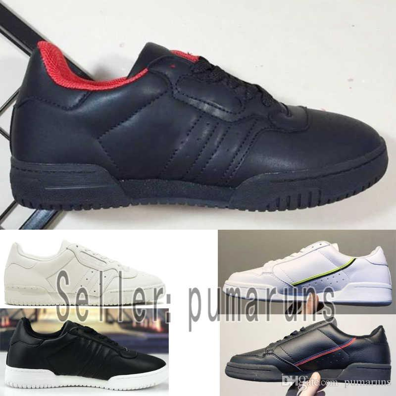 8e1699cfe33 Acheter 2019 Adidas Continental 80 Kanye West Calabasas Powerphase CG7153  Python Kanye B41680 Chaussures De Course À Pied Hommes Formateurs Femmes  Clunky ...