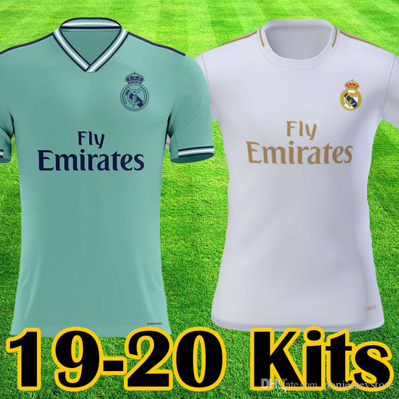 42b05900 2019 Real Madrid 2019 2020 New Soccer Jerseys MODRIC ASENSIO ISCO Football  Shirts Thailand SERGIO RAMOS BENZEMA Equipments BALE Tops Camisetas From ...