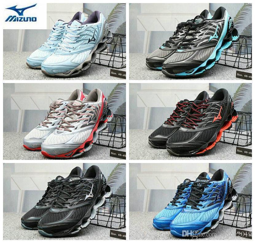b6f7cd6bf Compre Mizuno Autêntico 2019 8 Onda Prmizuno Phecy Homens Designer  Esportivo Tênis De Corrida Sneakers Mizunos 8 S Mens Casual Formadores  Tamanho 40 45 De ...