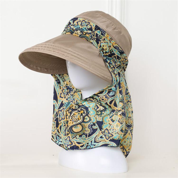 c78d38f4007168 AETRENDS 2017 New Ladies Hats Wide Brim Sun Hat Women UV Protection Summer  Cap Floral Design Beach Hats Z-5154 C18122501 Online with $12.03/Piece on  ...