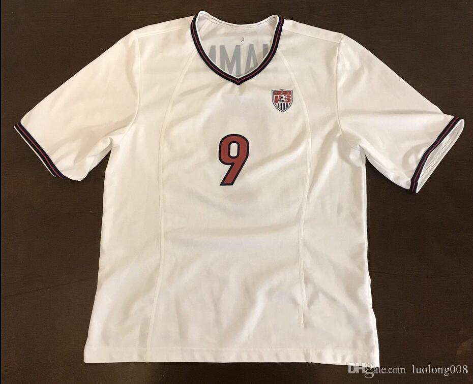25bf54e51b0 2019 Rare Vintage USA USWNT Mia Hamm Futbol Soccer Jersey Embroidery  Stitches Customize Any Size And Name Jersey From Luolong008