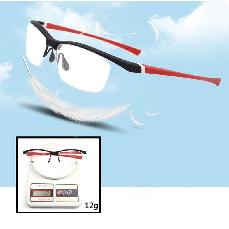 f4854a230b Compre Gafas Flexibles De Moda Marco Óptico Browline Lentes De Media Llanta Gafas  Graduadas Gafas Hombres Y Mujeres Marco Colorido A $44.69 Del Taihangshan  ...