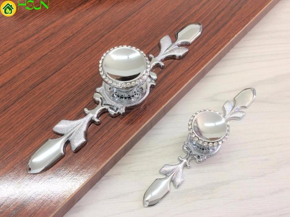 2019 crystal pulls handle silver drawer knobs glass dresser knobs rh dhgate com