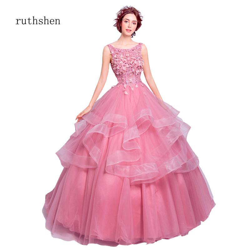 961ddd3761 wholesale Vestidos De 15 Anos 2019 Luxury Quinceanera Dresses Elegant Party  Prom Quinceanera Dress Vestido Debutante Gowns