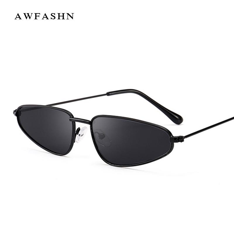 6ba2697a7ab 2019 Retro Trend Cat Eye Sunglasses Brand Designer Triangle Metal ...