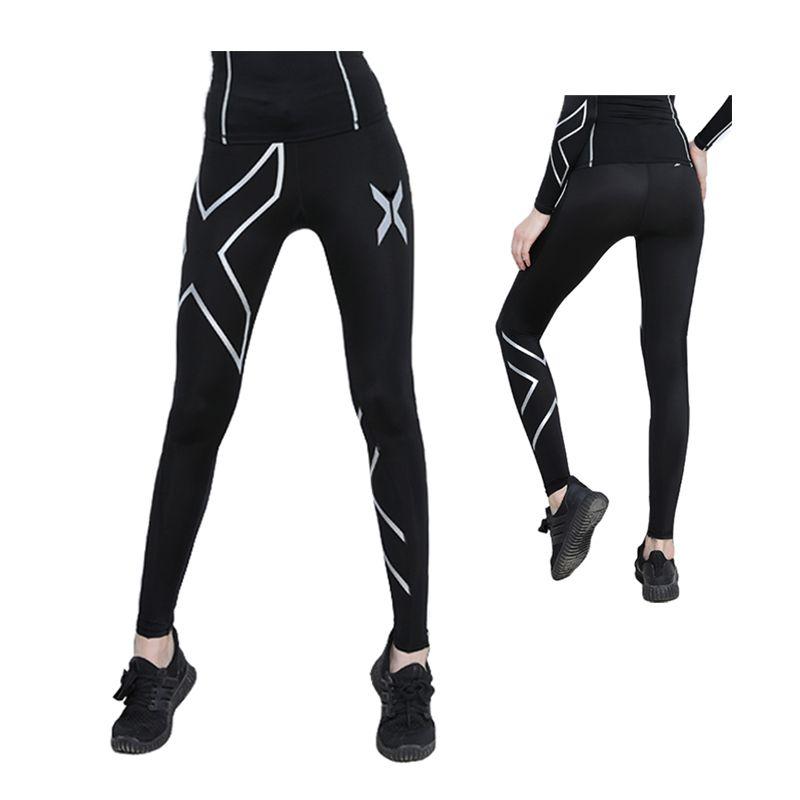 1f23c4eadf17c9 Brand Compression Pants Women Autumn Winter Running Tights Yoag ...