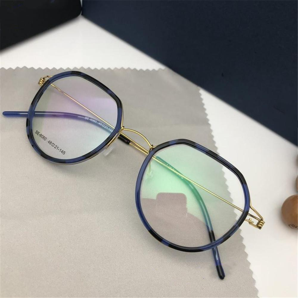 d4f1deaf89 2019 2019 New Famous Glasses Luxury Women Men Brand Designer Titanium  Sunglasses Frame High Quality UV Protection Myopia Eyewear With Package  From ...