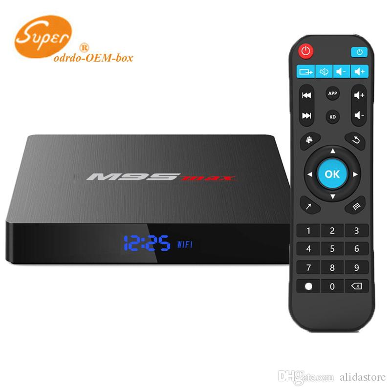 2019 New M9S MAX TV Box Android 7 1 2GB 16GB Amlogic S905W Quad Core Media  Player ARM Cortex A53 Mali-450MP CPU Better MXQ PRO S905W