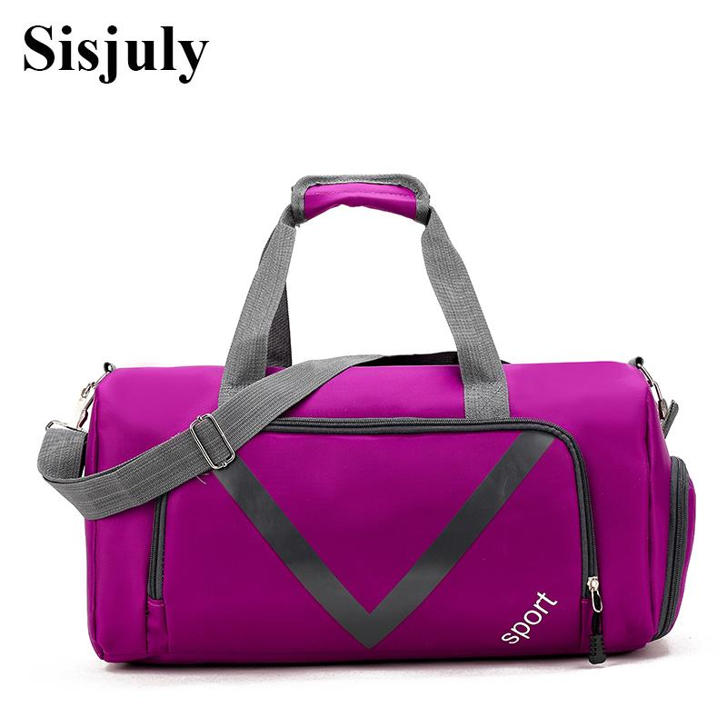 b310f1c9f774 Sisjuly Fashion Women Gym Bags For Training Big Capacity Women Travel Bag  Nylon Sports Bag Girls Tote Shoulder Sac De Sport Overnight Bags For Women  ...