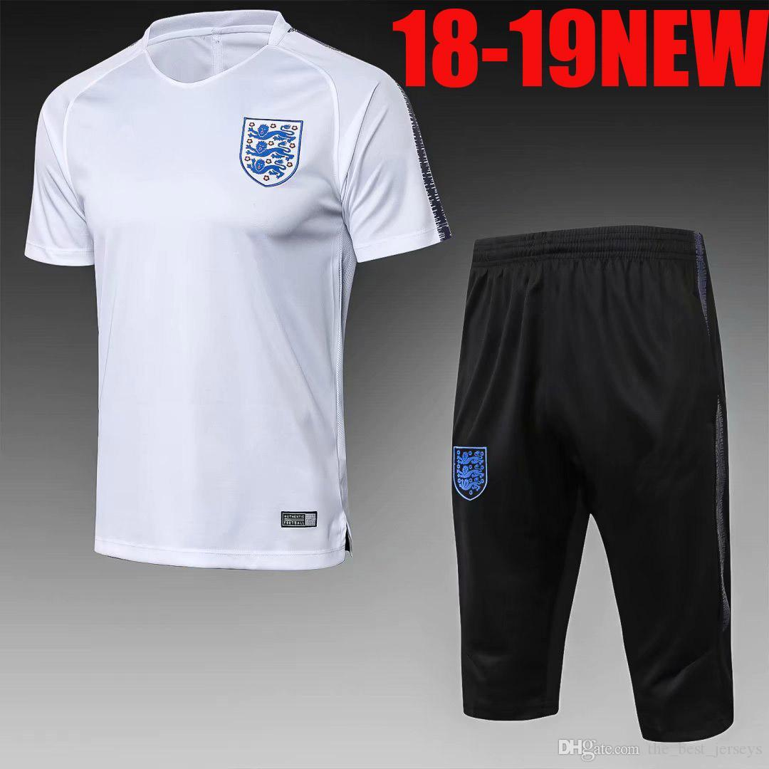 23c4649a7 NEW 2018 World Cup National England Polo Short Sleeve Soccer ...