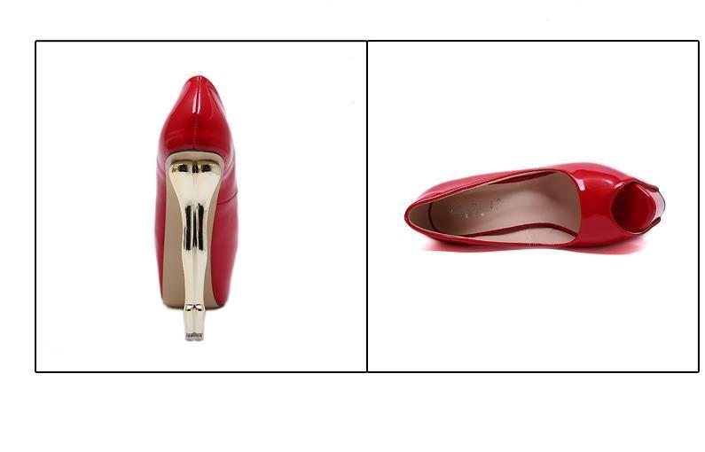 multi colors gold strange heels platform ultra high heels 16cm luxury women designer pumps red black white pink size 34 to 40
