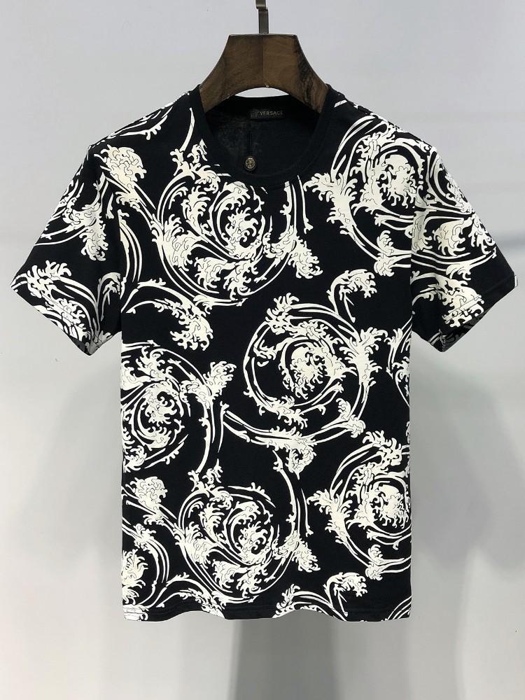 d9a7b14af Compre 19ss Verano Nueva Moda Para Hombre Camisetas Marca De Diseño  Original Calidad Perfecta Exquisita Impresión Camisetas Tamaño M 3XL 3011 #  2220211 A ...