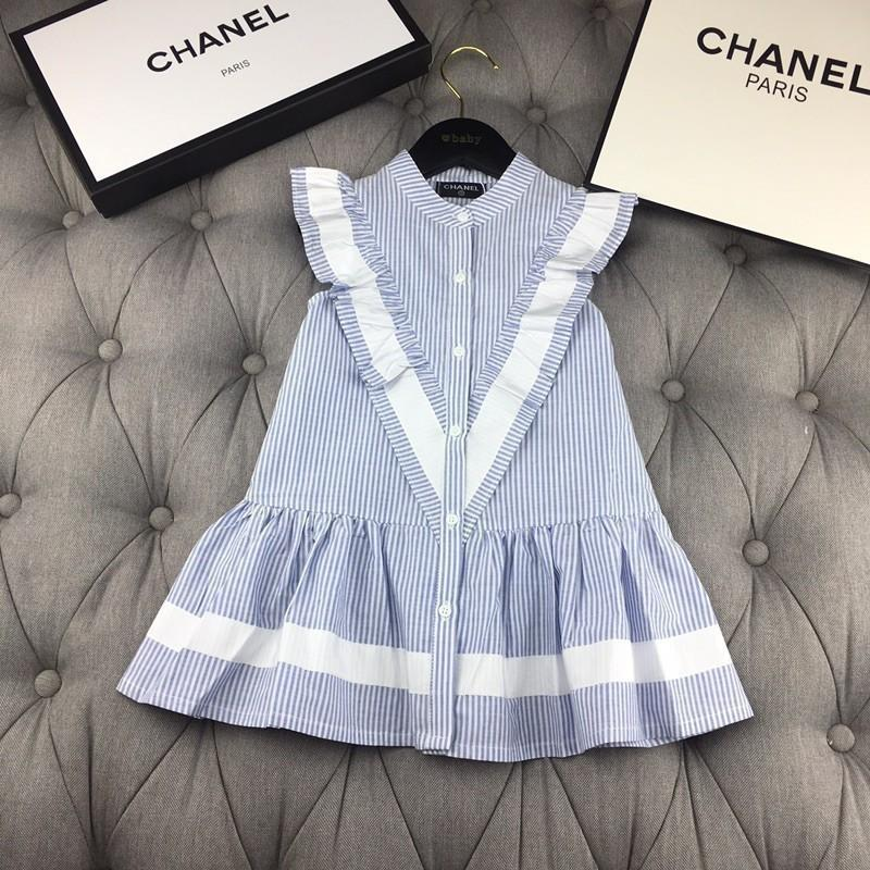 a0bfe459c 2019 2019 New Children'S Girls' Skirt High Quality Summer Striped Design  Sleeveless Dress From Whatsyan01, $59.47 | DHgate.Com