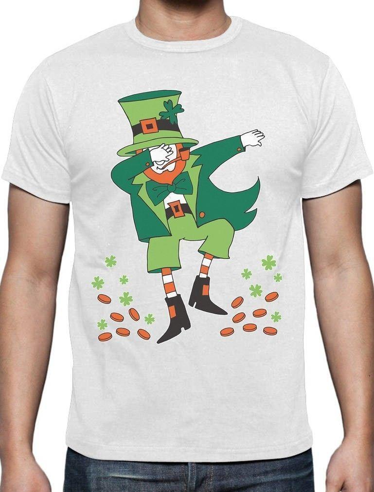 1e0127205db St. Patrick S Day Dabbing Leprechaun T Shirt Gift Idea Funniest T ...