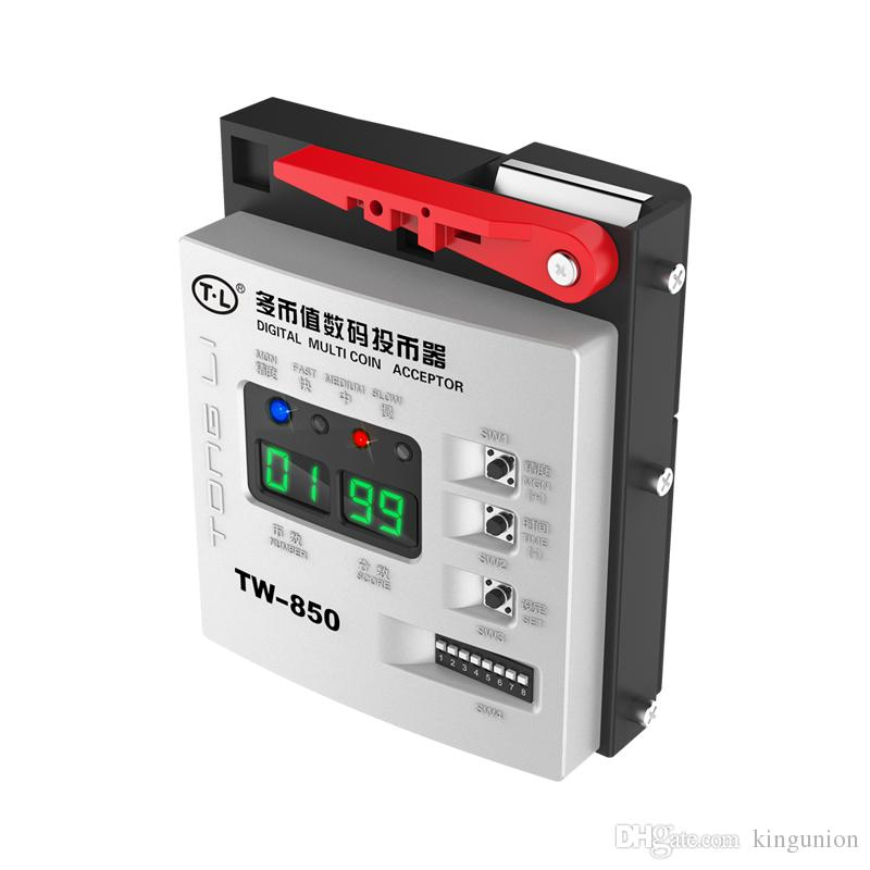 TW-850 Top Entry Multi Coin Acceptor coin Selector Coin Mechanism for  vending machine