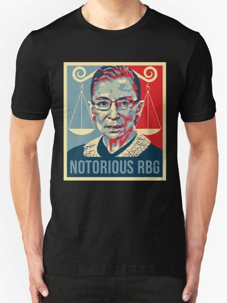 bbac1f74e New Notorious RBG Ruth Bader Ginsburg Men's T-Shirt Size S-5XLFunny free  shipping Unisex Casual Tshirt top