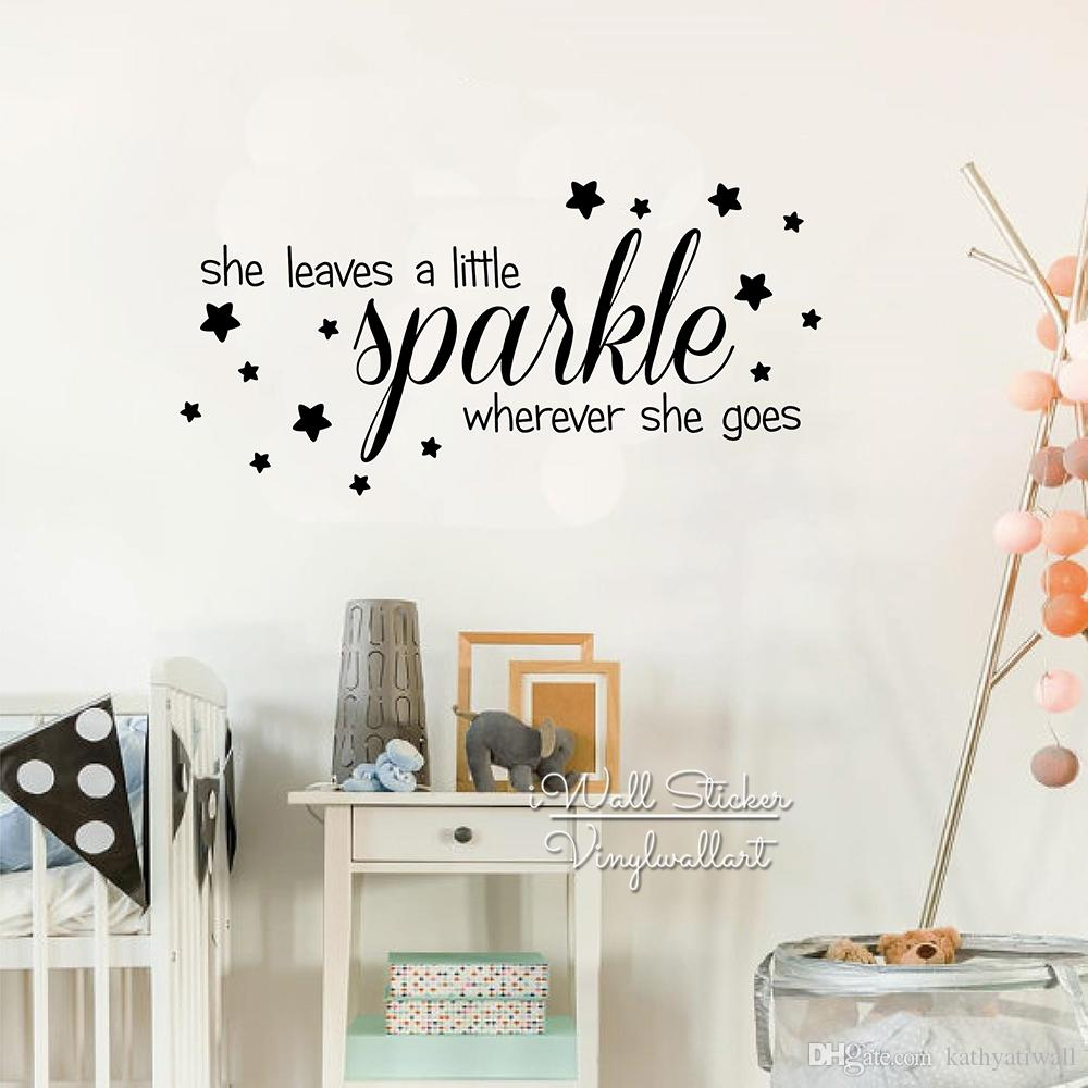 809a68404526 Children Room Quote Wall Decal, Kids Room Quote Star Wall Sticker, Vinyl Wall  Stickers Home Decor Living Room Q237 Baby Nursery Wall Decals Baby Nursery  ...