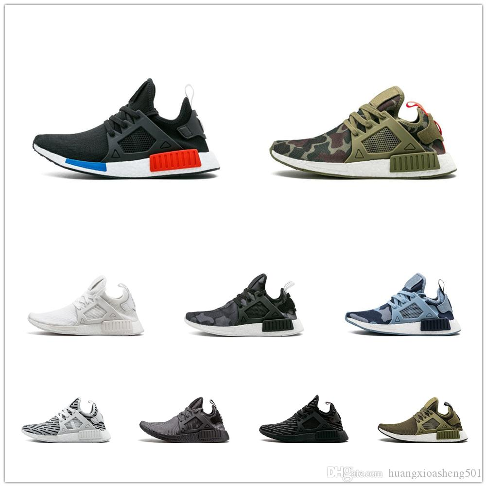 4d4ef96e07c7d 2019 With Origina Box Zebra NMD XR1 Running Shoes Mastermind Japan Fall  Olive Green Camo Glitch Black White Blue Pack OG NMDS Runners Sneskers From  ...