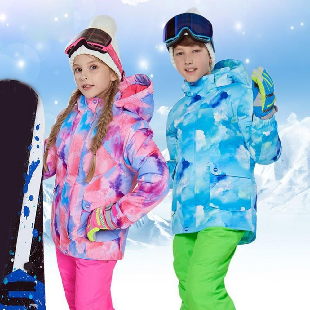 2019 NEW Kids Boys Girls Winter Snowboard Skiing Parka Jacket Snow Bib  Snowsuit Set Warm Snowsuit Hooded Ski Jacket + Pants Set From Bluelike 394d27cc2