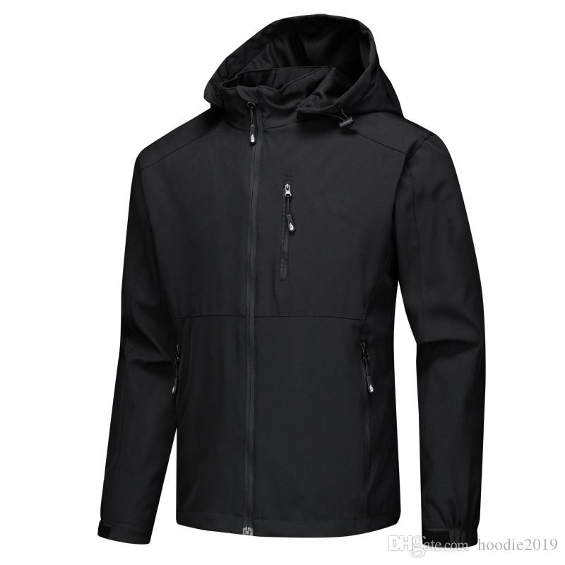 5ba2b5cdc681 2019 Brand New Men S THE NORTH FACE Jackets Hoodie Outdoor Jackets Climbing  Clothes Outerwear Coats Denim Fur Jacket Black Coat Mens From Hoodie2019