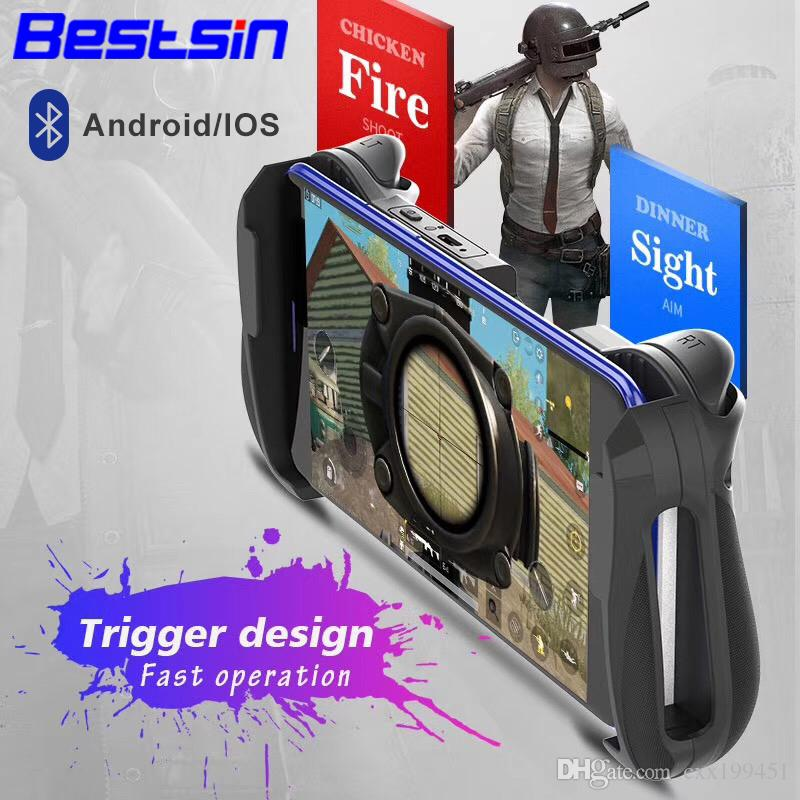 Bestsin MOCUTE 057 Bluetooth 4 0 Gamepad PUBG Controller PUBG Mobile  Triggers Joystick Wireless Joypad For iPhone XS For Android Tablet