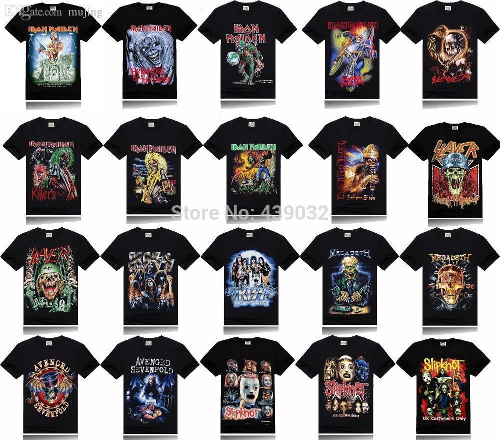 Megadeth Acquista Avenged Iron Slipknot Slayer Maiden Sevenfold Kiss gY67ybvf