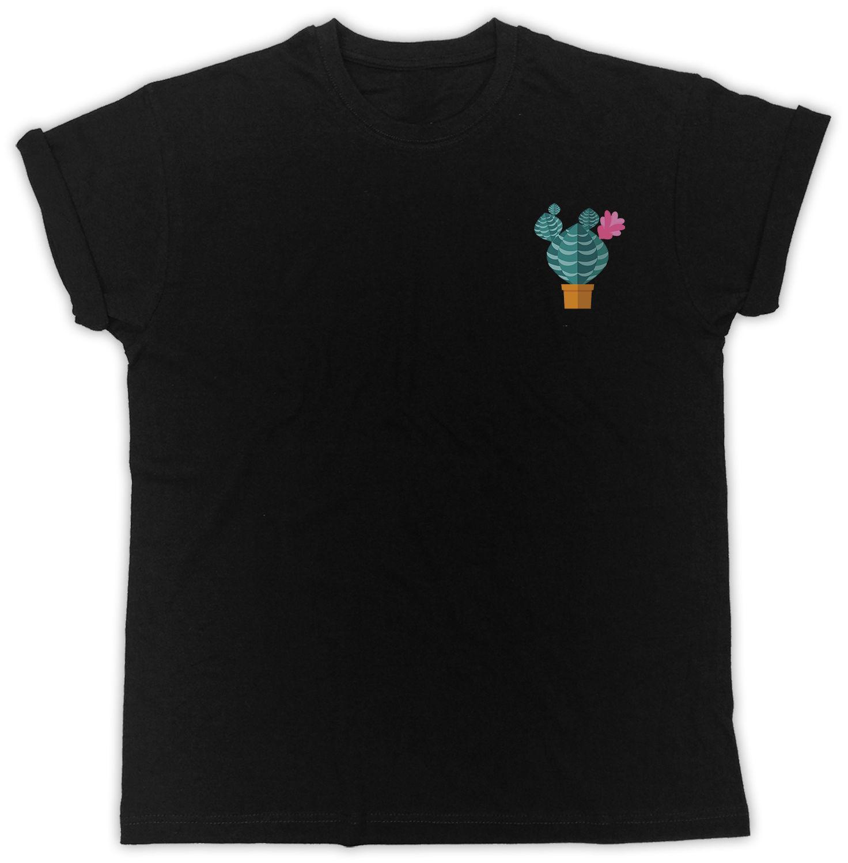 51c28dac CACTUS POCKET PRINTED CUTE COOL FASHION HIPSTER UNISEX BLACK TSHIRT Top T  Shirt Mens Shirts Shirts For Men From Teecup, $16.24| DHgate.Com
