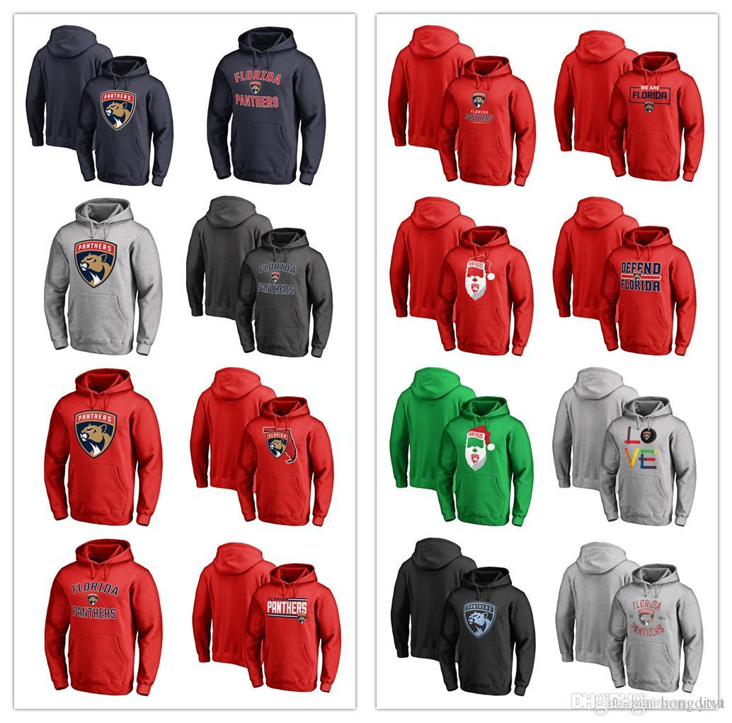 2019 2018 Men Women Youth Florida Panthers Primary Logo Victory Arch Fleece  Team Red Jolly Ice Hockey Pullover Hoodies Sweatshirts 88ed6d0dd