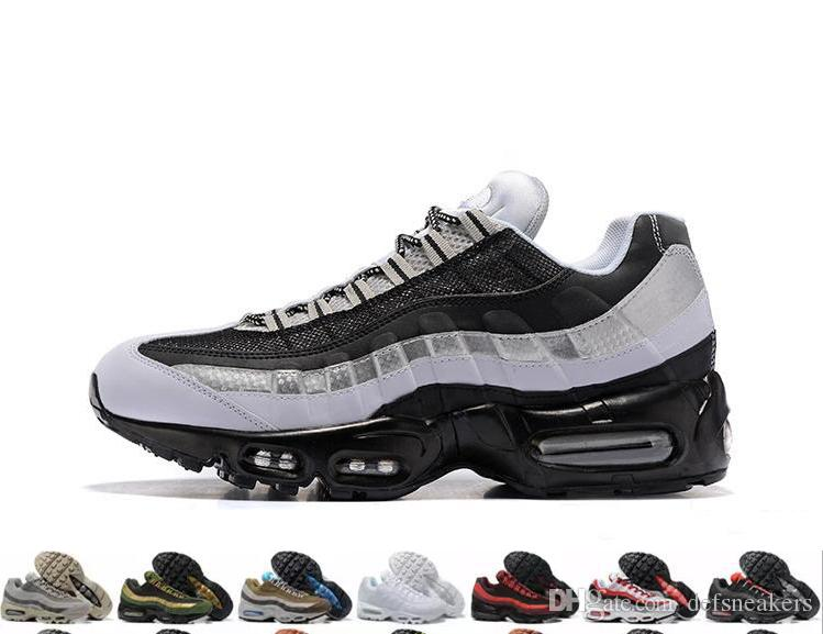 48ccd027228 2019 2019 Ultra 20th Anniversary 95 Men Running Shoes 95s Mens Trainers  Tennis Zapatos Sneakers Size 40 46 From Defsneakers