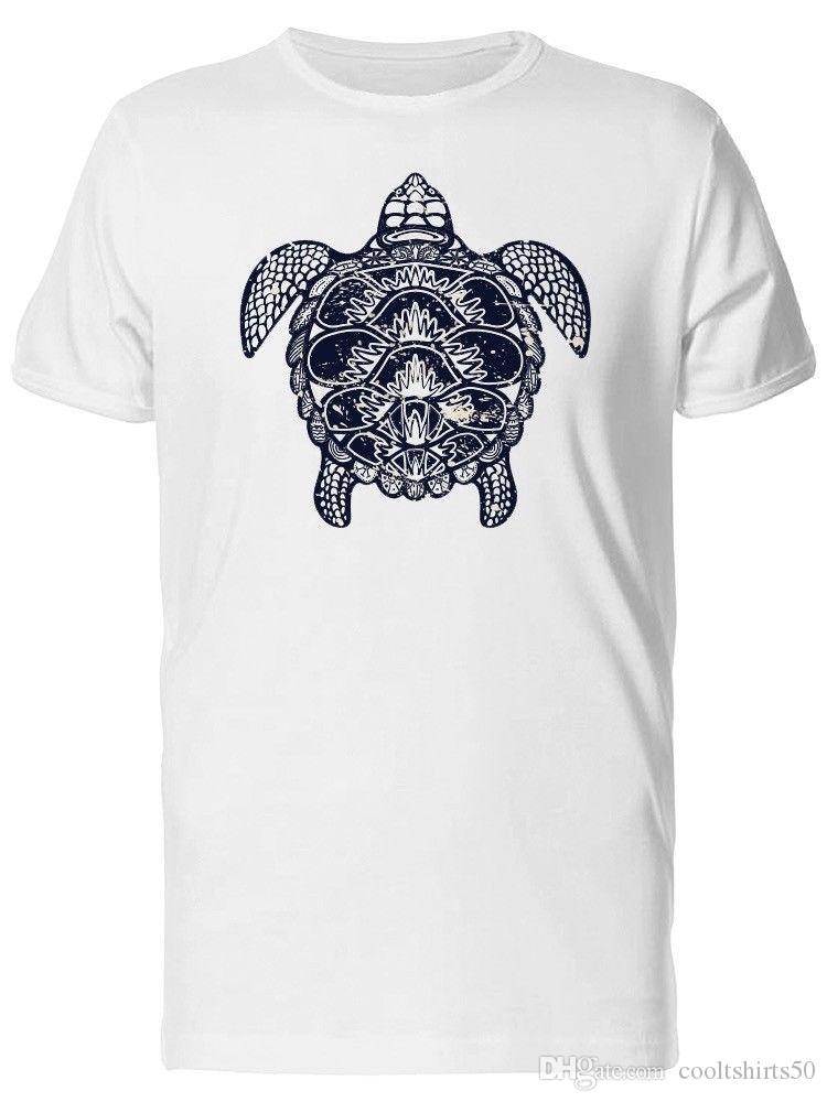 b89dfc165 Compre Camiseta De Hombre De Cuerpo Étnico De Tortuga Marina ...