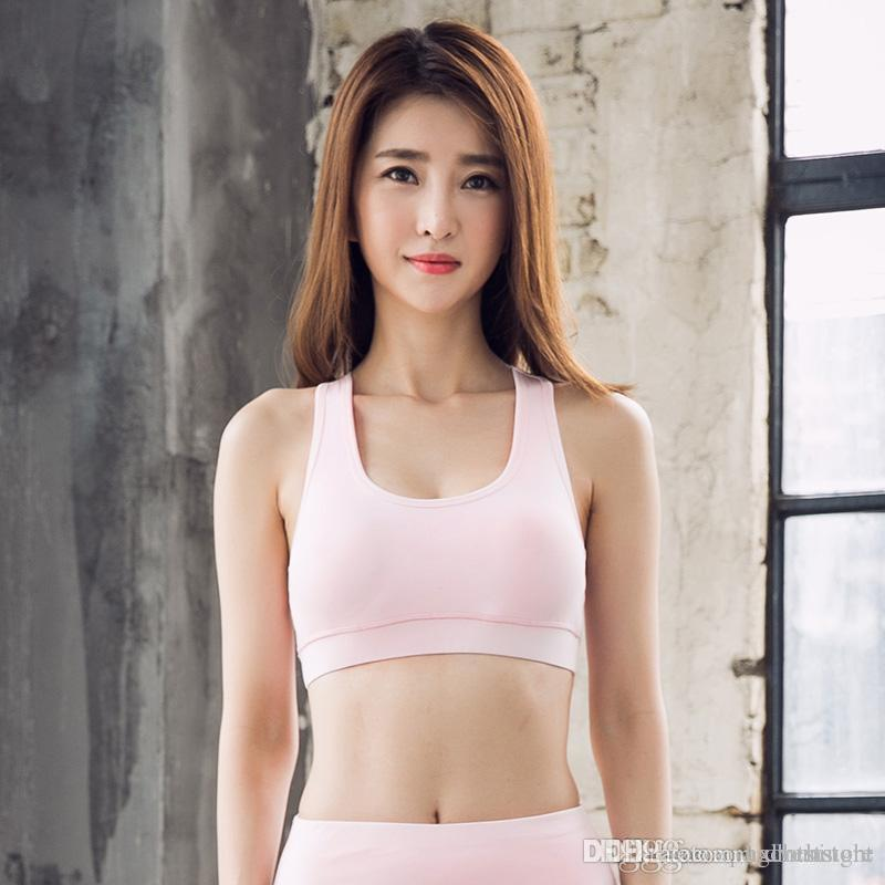 2019 Han Chao New Fashion Sexy Sports Underwear Yoga Wear Running Shock  Proof Beauty Back No Rims Sports Bra From Hxlveststore, $17.33 | DHgate.Com