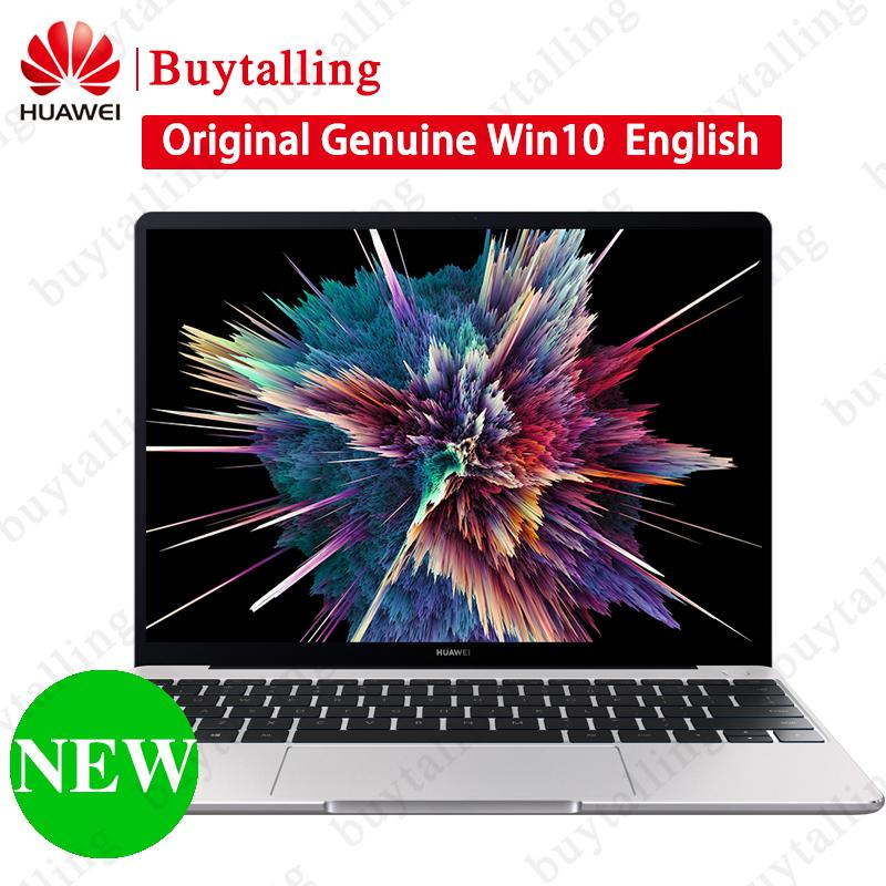 New HUAWEI MateBook 13 PC Computer 13 inch i5 i7 Quad Core RAM 8GB ROM  256GB Notebook Win 10 English 41 838Wh Battery Laptop