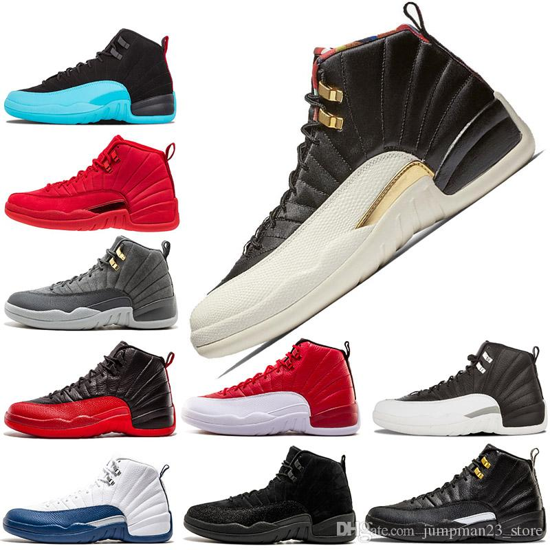 0a65d8a722d New Arrivals Gym Red Basketball Shoes 12 XII Women Men Black Red Athletic  12s French Blue The Master Shoes Sports Shoes Basketball Shoes 12s XII 12s  Online ...