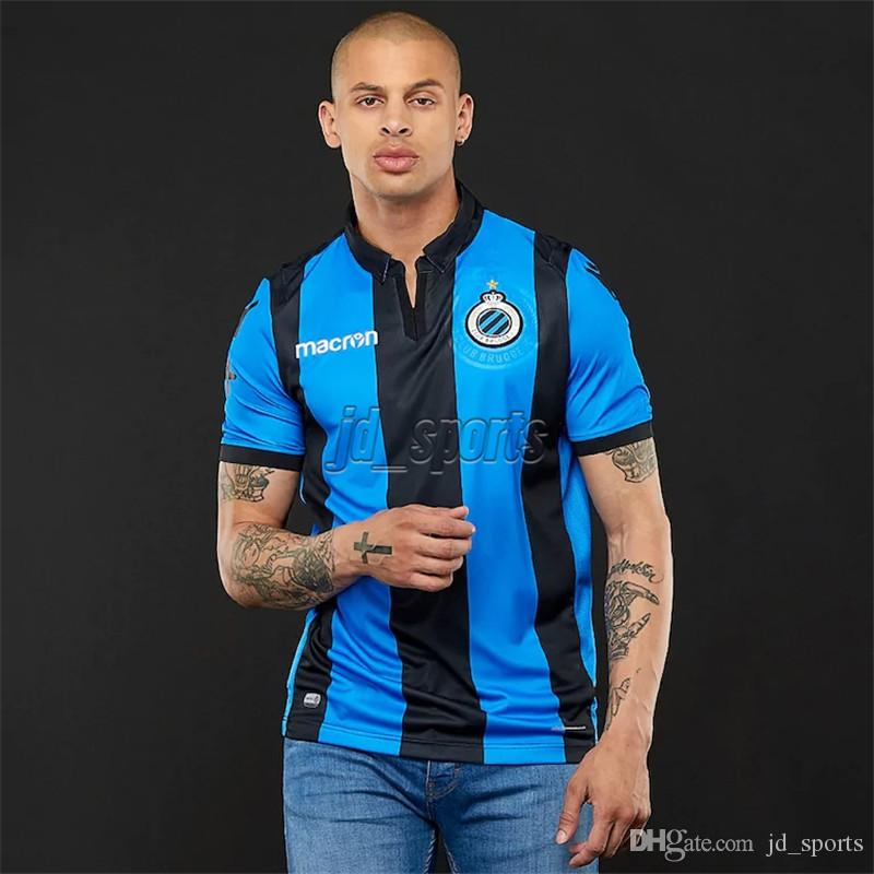 8683560ac 2019 Club Brugge 2018 19 Home Soccer Jerseys WESLEY Belgium Futbol Camisa  Football Camiseta Shirt Kit Maillot From Jd sports