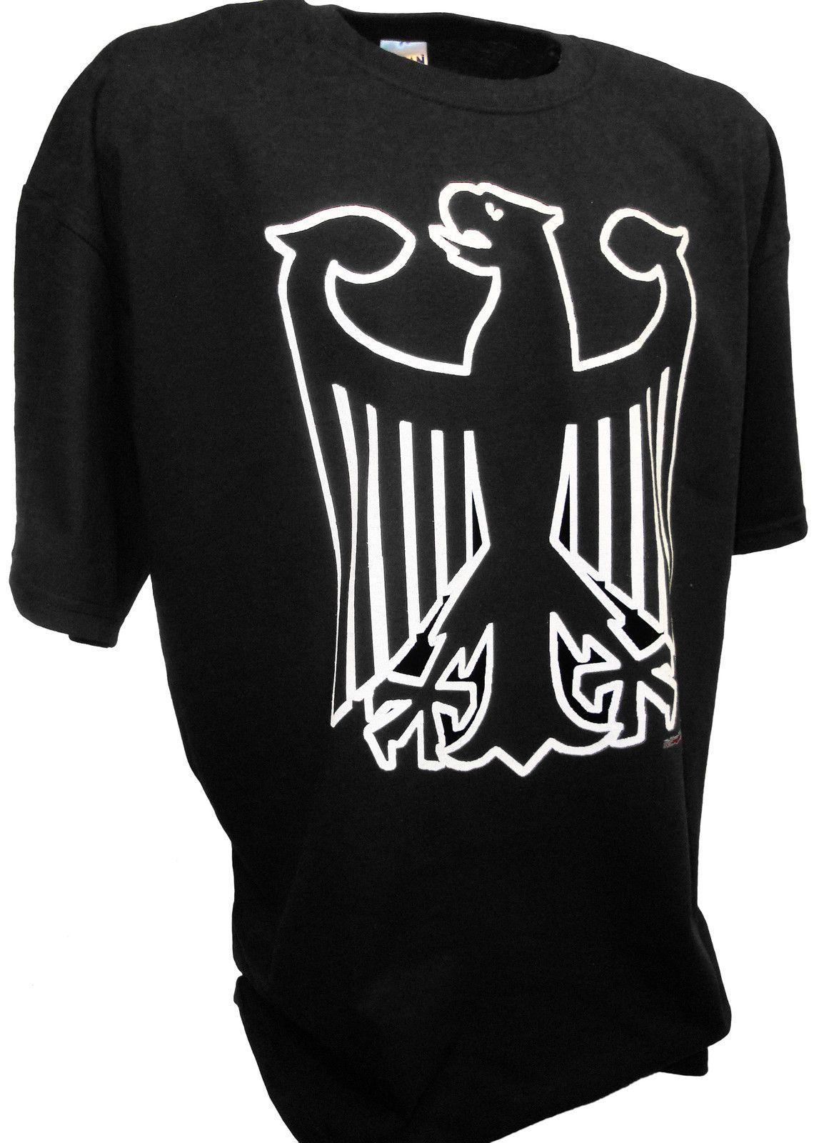 German Eagle Crest Deutschland Germany Flag Logo Ww2 Panzer Tank Mg42 T  Shirt summer Hot Sale Men T-Shirt Top New Tee Print