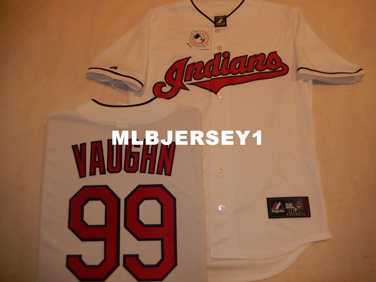 127bc5978 Cheap Custom Cleveland #99 RICKY VAUGHN Charlie Sheen Major League ...